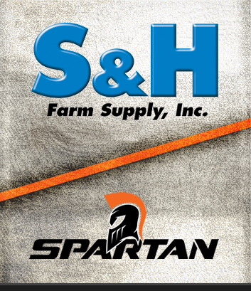 Powered by S&H and Spartan Mowers